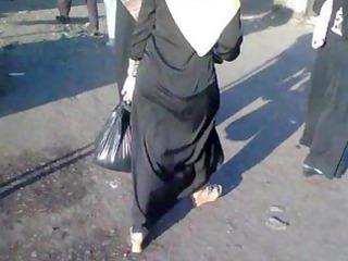 arab street voyeur - large arse candid - spying