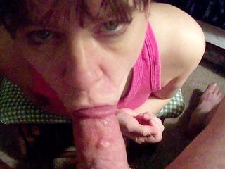 woman blowjob