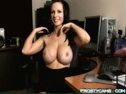woman chatting on cam
