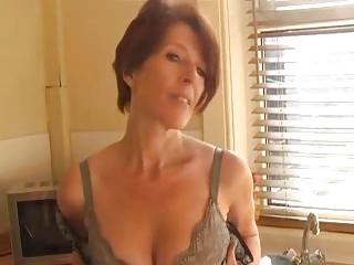 lady inside pantyhose fist