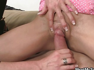 daddy enjoys to have it with milf and daughter