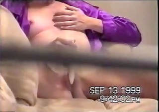 bad voyeur spied his mom masturbating. throughout