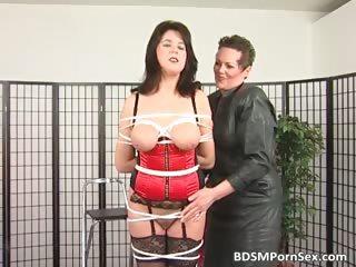 bondage game where brunette desperate mature babe